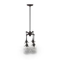 Hanging Lamp Loft House P147 PNG & PSD Images