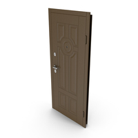 Entrance Door Brown PNG & PSD Images