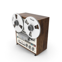 Reel Tape Recorder Teac X 10R PNG & PSD Images
