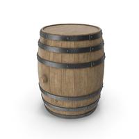 Wooden Barrel Beech Veined PNG & PSD Images