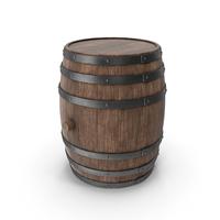 Wooden Barrel Walnut PNG & PSD Images