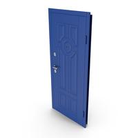 Entrance Door Blue PNG & PSD Images