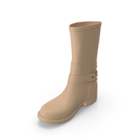 Women's Boots Beige PNG & PSD Images