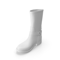 Women's Boots White PNG & PSD Images