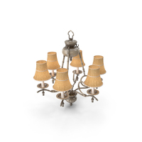 Bamboo Chandelier PNG & PSD Images