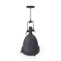 Hanging Lamp T1 Black Loft Steampunk Spotlight PNG & PSD Images