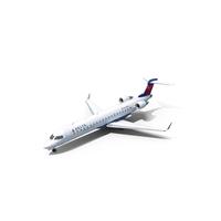 Bombardier CRJ700 Delta Connection PNG & PSD Images