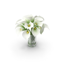 Calla Lily Bouquet PNG & PSD Images