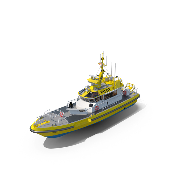 Camark Pilot Boat 22m PNG & PSD Images
