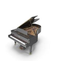 Concert Grand Piano Yamaha S6BB PNG & PSD Images