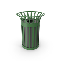 City Trash Bin PNG & PSD Images