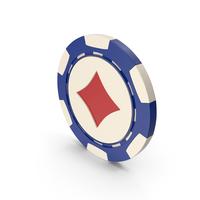Diamonds Casino Chip PNG & PSD Images