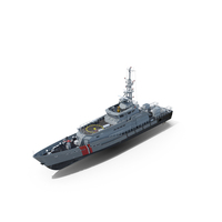 DAMEN Stan Patrol Vessel PNG & PSD Images