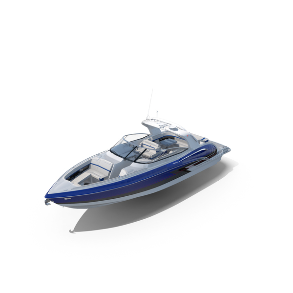Formula 350 FX CBR Luxury Sport Boat PNG & PSD Images
