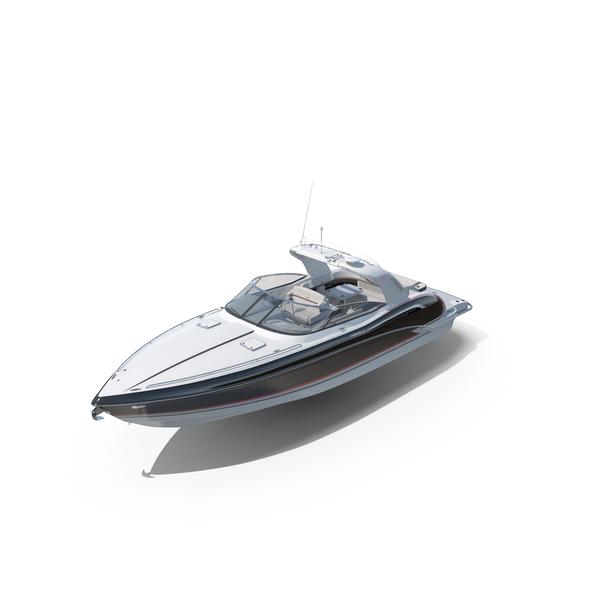 Formula 350 FX Luxury Sport Boat PNG & PSD Images