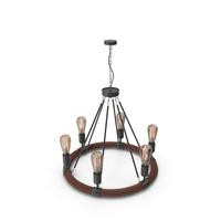 Hanging Lamp Loft House P73 6 PNG & PSD Images