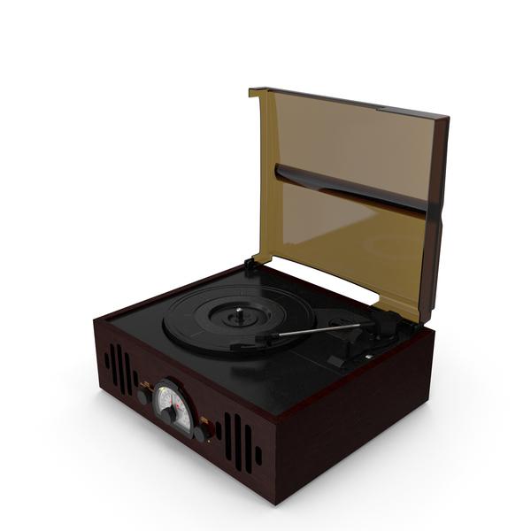 Vintage Vinyl Player PNG & PSD Images