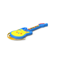 Kids Toy Electric Guitar PNG & PSD Images