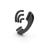 Symbol Black Phone PNG & PSD Images