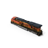 GE ES44AC Locomotive BNSF PNG & PSD Images