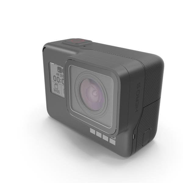 GoPro HERO 5 Black Camera PNG & PSD Images