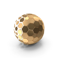 Hex Ball Logo PNG & PSD Images