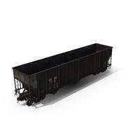 H351 Open Top Hopper Rail Car PNG & PSD Images