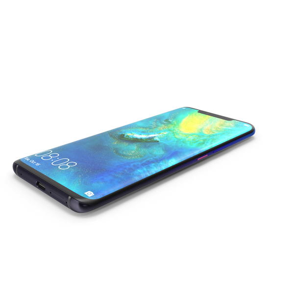 Huawei Mate 20 Pro Twilight PNG & PSD Images