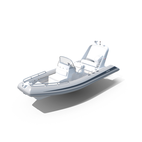 Inflatable Boat Grand Silver Line Cruiser S650GL PNG & PSD Images