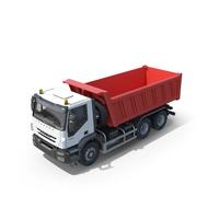 Iveco Trakker Dump Truck 6x4 PNG & PSD Images