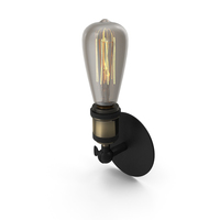Wall Lamp Loft House W-118 PNG & PSD Images