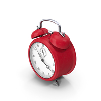 Alarm Clock Red PNG & PSD Images