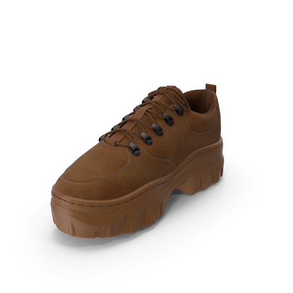Women's Sneaker Brown PNG & PSD Images