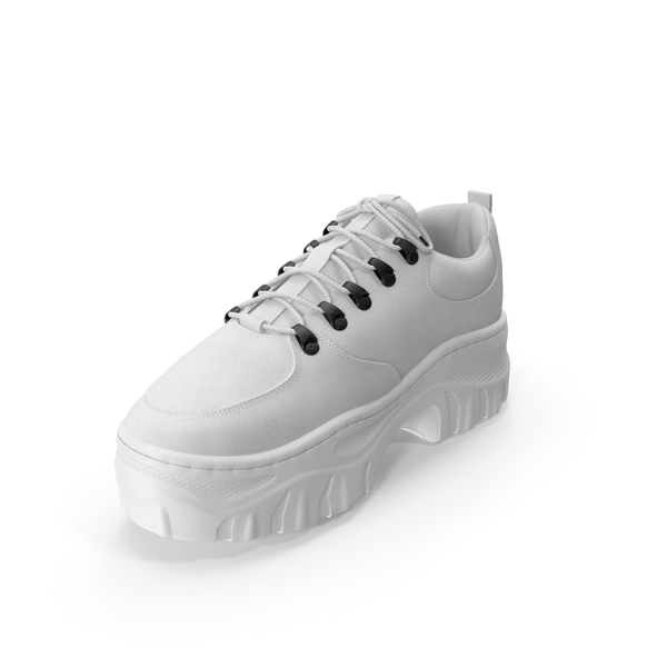 Women's Sneaker White PNG & PSD Images