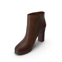 Womens Shoes Brown PNG & PSD Images