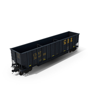 J311 Coal Gondola Open Top Car PNG & PSD Images