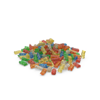 Pile Of Gummy Bears PNG & PSD Images