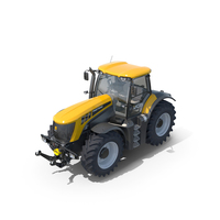 JCB Fastrac 8310 Agricultural Tractor PNG & PSD Images