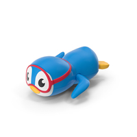 Swimming Penguin Bath Toy PNG & PSD Images