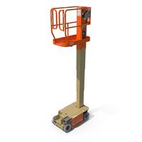 JLG 1230ES Driveable Vertical Mast Lift PNG & PSD Images
