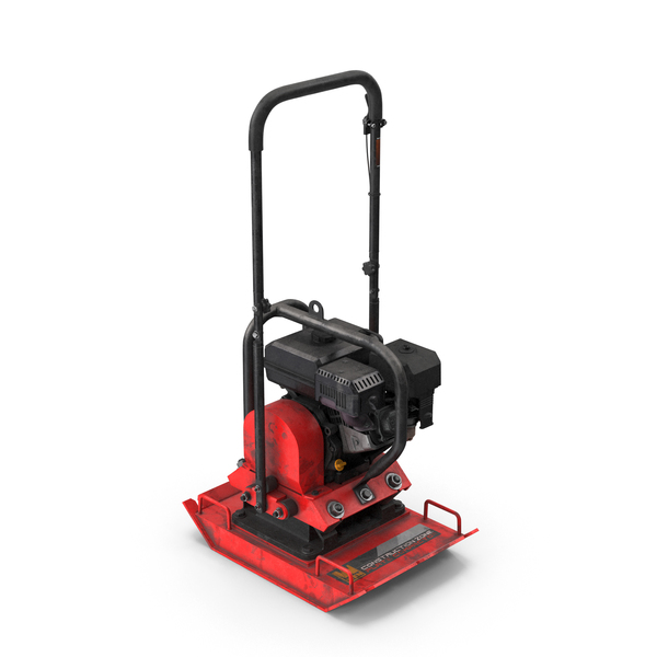 WEN 56035T Vibratory Plate Compactor Dirty PNG & PSD Images