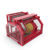Wire Rope Hydraulic Mooring Winch PNG & PSD Images