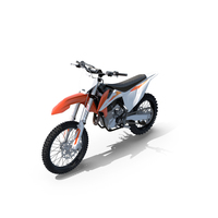 KTM 450 SX-F 2020 Motocross Bike PNG & PSD Images