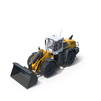 Liebherr L580 XPower Wheel Loader PNG & PSD Images