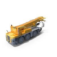 Liebherr Mobile Crane LTC 1045-3.1 PNG & PSD Images