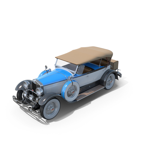 Lincoln Model L Dual Cowl Sport Phaeton by Locke 1930 PNG & PSD Images
