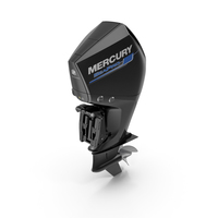 Mercury 300 CMS Outboard Motor PNG & PSD Images