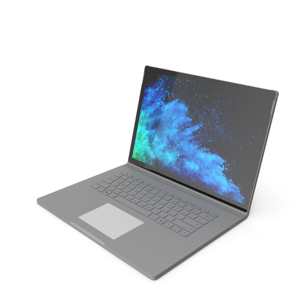Microsoft Surface Book 2 15 inch PNG & PSD Images