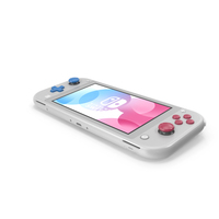 Nintendo Switch Lite Gray PNG & PSD Images