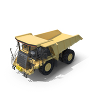 Off-Highway Dump Truck PNG & PSD Images